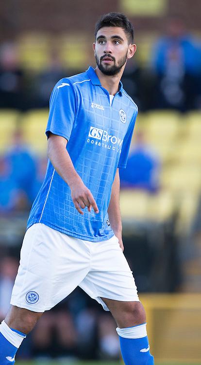 St Johnstone FC.. 2014-2015 Season<br /> Trialist Thomas Tsitas<br /> Picture by Graeme Hart.<br /> Copyright Perthshire Picture Agency<br /> Tel: 01738 623350  Mobile: 07990 594431