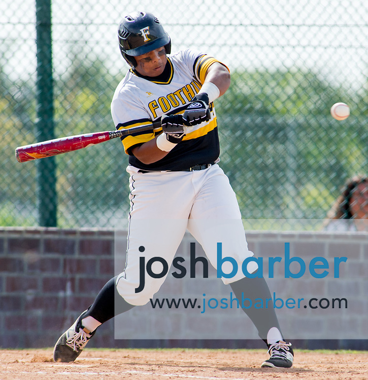 Foothill's Ryon Padayao during a Crestview League game at Foothill High School on Friday, May 5, 2017 in North Tustin, Calif. Foothill won 4-2. (Photo by Josh Barber, Contributing Photographer)