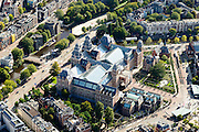 Nederland, Noord-Holland, Amsterdam, 27-09-2015; Museumkwartier, Museumplein,  Stadhouderskade met Rijksmuseum.<br /> Museum quarter with Rijksmuseum.<br /> luchtfoto (toeslag op standard tarieven);<br /> aerial photo (additional fee required);<br /> copyright foto/photo Siebe Swart