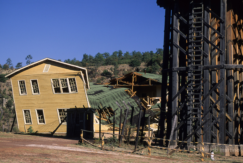 """Durango, """"Los Alamos"""" set utilised by Hollywood in """"Shadow Makers"""" movie with Paul Newman."""