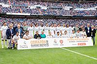 Real Madrid Legends during Corazon Classic Match between Real Madrid Legends and Arsenal Legends at Santiago Bernabeu Stadium in Madrid, Spain. June 03, 2018. (ALTERPHOTOS/Borja B.Hojas)