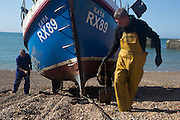 """8.6.15 The Stade. """"It's about money, it's about business, it's about the right to fish, who holds that right and who financially benefits from that right. It used to be about coastal communities but it isn't any more. There are many bankruptcies in the small 10 industry because of lack of quota. It's fundamentally wrong."""" Paul Joy"""