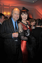 ED & CAROL VICTOR at Quintessentially's 10th birthday party held at The Savoy Hotel, London on 13th December 2010.