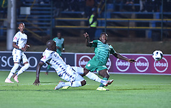 SOUTH AFRICA: GAUTENG: Bidvest Wits player Sfiso Hlanti clash with Bloemfontein Celtic player Victor Letsoalo during the Absa Premiership at Bidvest Stadium Gauteng.<br />876<br />10.11.2018<br />Picture: Itumeleng English/African News Agency (ANA)