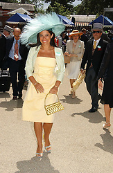 Fashion designer DANIELLA HELAYEL at the 3rd day - Ladies Day of Roayl Ascot 2006 on 22nd June 2006.<br />