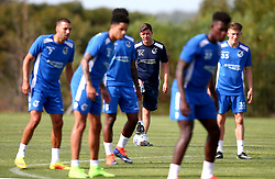 Bristol Rovers manager Darrell Clarke oversees training on his side's first day in Portugal - Mandatory by-line: Robbie Stephenson/JMP - 18/07/2017 - FOOTBALL - Colina Verde Golf & Sports Resort - Moncarapacho, England - Sky Bet League One
