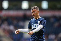 Kane Wilson of West Bromwich Albion looks on during the warm up - Rogan Thomson/JMP - 28/08/2016 - FOOTBALL - The Hawthornes - West Bromwich, England - West Bromwich Albion v Middlesbrough - Premier League.