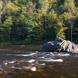 The Deerfield River in Charlemont, Massachusetts.
