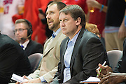 DALLAS, TX - DECEMBER 16: Nicholls State Colonels head coach J.P. Pipersk looks on against the SMU Mustangs on December 16, 2015 at Moody Coliseum in Dallas, Texas.  (Photo by Cooper Neill/Getty Images) *** Local Caption *** J.P. Pipersk