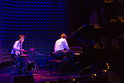 June 23, 2017 - New York, United States - Marcin Masecki piano and Jerzy Rogiewicz drums perform at  Jazztopad as part of Polish Jazztopad festival in New York presented by Polish Cultural Institute. (Credit Image: © Lev Radin/Pacific Press via ZUMA Wire)