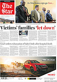 April 08, 2021 (AFRICA): Front-page: Today's Newspapers In Africa