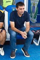 Club Deportivo Leganes's Asier Garitano during the match of La Liga between Club Deportivo Leganes and Futbol Club Barcelona at Butarque Estadium in Leganes. September 17, 2016. (ALTERPHOTOS/Rodrigo Jimenez)