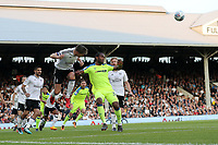 LONDON, ENGLAND - MAY 14:LONDON, ENGLAND - MAY 14:Derby's Cameron Jerome is beaten to the ball