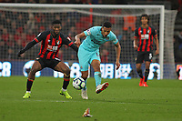 Football - 2018 / 2019 Premier League - AFC Bournemouth vs. Newcastle United<br /> <br /> Isaac Hayden of Newcastle United and Bournemouth's Jefferson Lerma in action during the Premier League match at the Vitality Stadium (Dean Court) Bournemouth   <br /> <br /> COLORSPORT/SHAUN BOGGUST