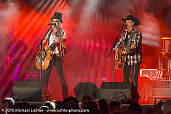 Big and Rich play at Westworld on Wednesday of Arizona Bike Week 2014. USA. April 3, 2014.  Photography ©2014 Michael Lichter.