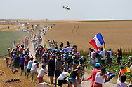 Illustration, Scenery, cobblestone, fans, french flag, during the 105th Tour de France 2018, Stage 9, Arras Citadelle - Roubaix (156,5km) on July 15th, 2018 - Photo Kei Tsuji / BettiniPhoto / ProSportsImages / DPPI