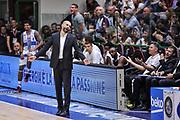 DESCRIZIONE : Campionato 2014/15 Dinamo Banco di Sardegna Sassari - Dolomiti Energia Aquila Trento Playoff Quarti di Finale Gara4<br /> GIOCATORE : Maurizio Buscaglia<br /> CATEGORIA : Ritratto Delusione<br /> SQUADRA : Dolomiti Energia Aquila Trento<br /> EVENTO : LegaBasket Serie A Beko 2014/2015 Playoff Quarti di Finale Gara4<br /> GARA : Dinamo Banco di Sardegna Sassari - Dolomiti Energia Aquila Trento Gara4<br /> DATA : 24/05/2015<br /> SPORT : Pallacanestro <br /> AUTORE : Agenzia Ciamillo-Castoria/L.Canu