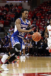 22 December 2015: Tahjere McCall(5). Illinois State Redbirds host the Tennessee State Tigers at Redbird Arena in Normal Illinois (Photo by Alan Look)