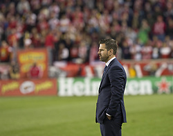 October 30, 2017 - Harrison, New Jersey, United States - Toronto FC coach Greg Vanney during MLS Cup first leg game against Red Bulls at Red Bull Arena Toronto won 2 - 1  (Credit Image: © Lev Radin/Pacific Press via ZUMA Wire)