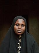 A portrait of a local woman in Djenné, Mali