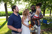 Kansas City Wedding Photographer- Gavin-Vanessa Wedding, 7/6/19.  Photos by Colin E. Braley