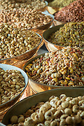 Nuts and seeds at Sadaf Iranian Sweets shop, United Arab Emirates