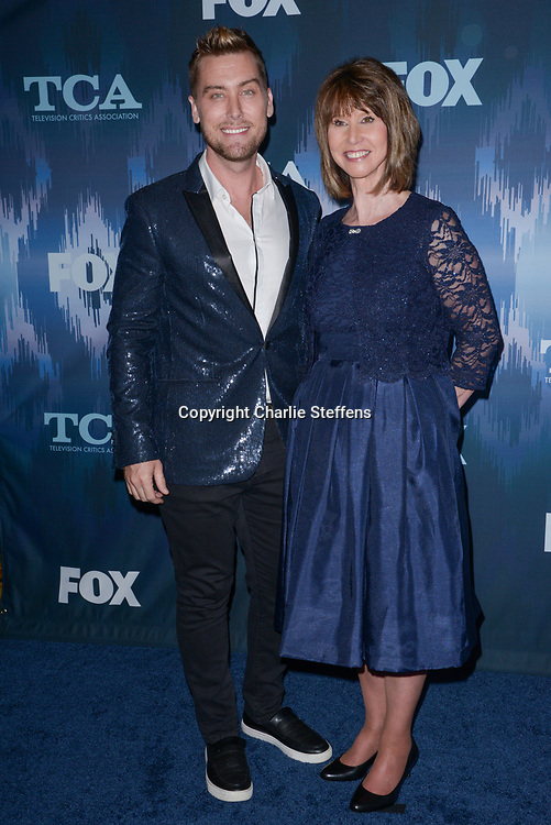 LANCE BASS (L and DIANE BASS at the Fox Winter TCA 2017 All-Star Party at the Langham Hotel in Pasadena, California