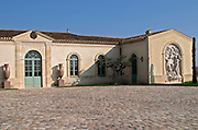 Winery building. Chateau Petrus, Pomerol, Bordeaux, France