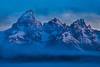 Intimate shot of the Grand Teton, Grand Teton National Park, Wyoming