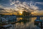 Sunset Over Dana Point Harbor