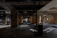 The Feurle Collection housed in a Berlin wartime bunker. Architect John Pawson