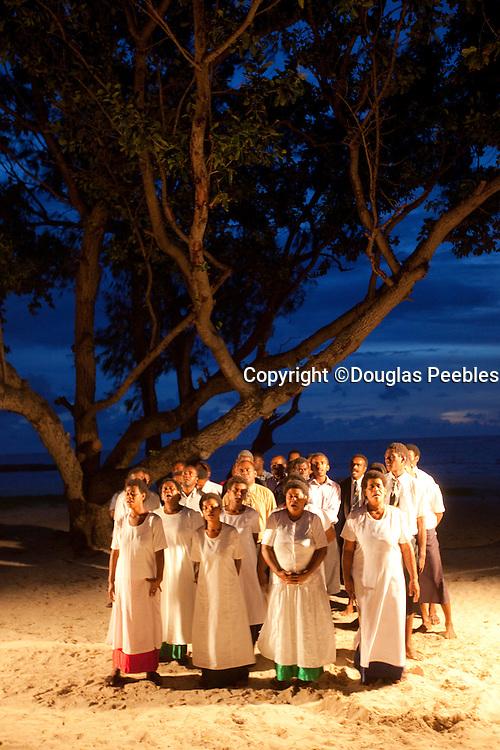 Fijian chior, Yasawa Island Resort and Spa, Yasawa Islands, Fiji
