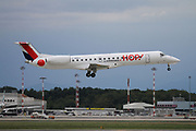 F-GRGJ HOP! Embraer ERJ-145EP at Malpensa (MXP / LIMC), Milan, Italy