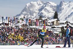 February 21, 2019 - Seefeld In Tirol, AUSTRIA - 190221 Laura Gimmler of Germany competes in women's cross-country skiing sprint qualification during the FIS Nordic World Ski Championships on February 21, 2019 in Seefeld in Tirol..Photo: Joel Marklund / BILDBYRÃ…N / kod JM / 87879 (Credit Image: © Joel Marklund/Bildbyran via ZUMA Press)