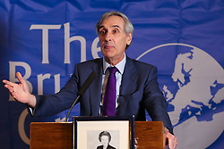 © Licensed to London News Pictures. 30/01/2019. London, UK. Sir John Redwood MP- Former Secretary of State and serving Privy Counsellor speaking at the Bruges Group event focusing on issues of Britain outside the European Union. Photo credit: Dinendra Haria/LNP