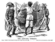 """The Genu-ine Othello. Othello. """"Keep up your bright swords, for de dew will rust dem. Both you ob my inclining, and de rest."""""""