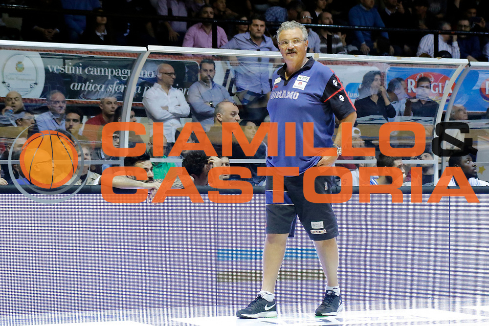 DESCRIZIONE : Caserta Lega A 2014-15 Pasta Reggia Caserta Banco di Sardegna Sassari<br /> GIOCATORE : Romeo Sacchetti<br /> CATEGORIA : ritratto delusione<br /> SQUADRA : Banco di Sardegna Sassari<br /> EVENTO : Campionato Lega A 2014-2015<br /> GARA : Pasta Reggia Caserta Banco di Sardegna Sassari<br /> DATA : 26/04/2015<br /> SPORT : Pallacanestro <br /> AUTORE : Agenzia Ciamillo-Castoria/A. De Lise<br /> Galleria : Lega Basket A 2014-2015 <br /> Fotonotizia : Caserta Lega A 2014-15 Pasta Reggia Caserta Banco di Sardegna Sassari