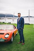 August 15, 2019:  Pebble Beach Concours, Lamborghini Miura, Jordan Russel