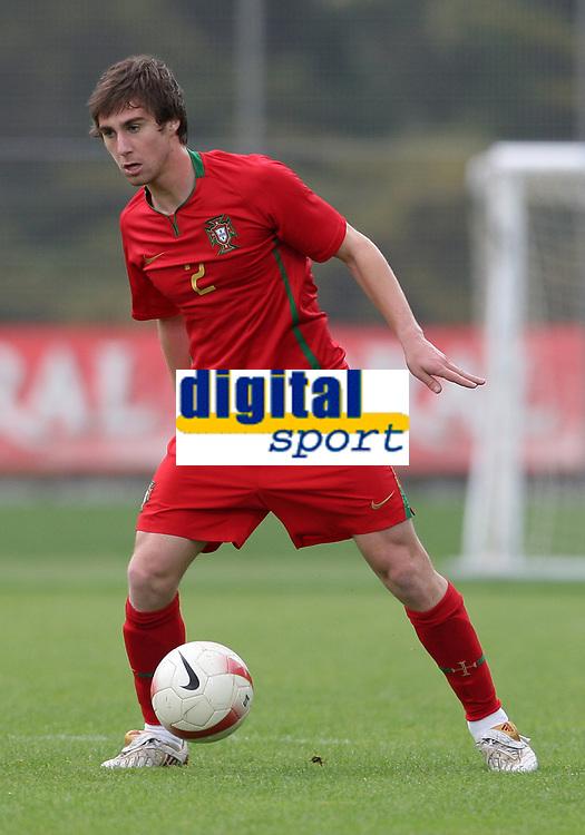 20090324: FUNCHAL, MADEIRA, PORTUGAL - Portugal vs Cape Verde: XIII Madeira International Under 21 Tournament. In picture: Ruben Lima (Portugal). <br />PHOTO: Octavio Passos/CITYFILES