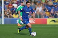 AFC Wimbledon midfielder Anthony Hartigan (8) dribbling during the EFL Sky Bet League 1 match between AFC Wimbledon and Portsmouth at the Cherry Red Records Stadium, Kingston, England on 13 October 2018.