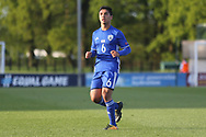 Mohammad Gadir of Israel (6) during the UEFA European Under 17 Championship 2018 match between Israel and Italy at St George's Park National Football Centre, Burton-Upon-Trent, United Kingdom on 10 May 2018. Picture by Mick Haynes.