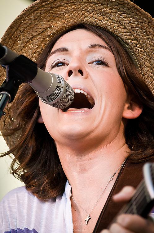 Brandi Carlile performing at the2013 Appel Farm Arts & Music Festival in Elmer, NJ.