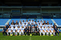 Team Auxerre during Auxerre squad photo call for the 2016-2017 Ligue 2 season on September, 7 2016 in Auxerre, France ( Photo by Andre Ferreira / Icon Sport )