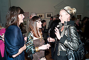 IZZY HARRAP; NATASHA KISSELL; AMANDA NEAL, No New Thing Under the Sun. Royal Academy. Piccadilly. London. 20 OCTOBER 2010. -DO NOT ARCHIVE-© Copyright Photograph by Dafydd Jones. 248 Clapham Rd. London SW9 0PZ. Tel 0207 820 0771. www.dafjones.com.