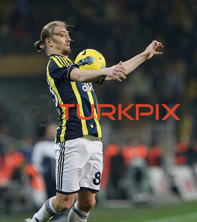 Fenerbahce's Caner Erkin during their Turkish superleague soccer match Fenerbahce between Gaziantepspor at the Sukru Saracaoglu stadium in Istanbul Turkey on Monday09 January 2011. Photo by TURKPIX