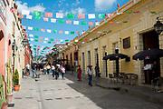Street scene, San Cristobal de las Casas, Chiapas, Mexico.