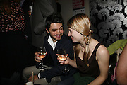Dominic Cooper and Jodie Whittaker, 9th British Independent Film awards Announce Nominations and Jury today at Soho House. Supported by the UK Film council and Mac cosmetics.  Old Compton st. London. 25 October 2006. -DO NOT ARCHIVE-© Copyright Photograph by Dafydd Jones 66 Stockwell Park Rd. London SW9 0DA Tel 020 7733 0108 www.dafjones.com