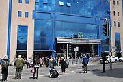 Israel, Jerusalem, Exterior of the central bus station