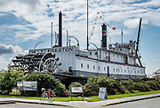 The steam-powered sternwheeler snagboat W.T. Preston was operated by the US Army Corps of Engineers 1929-1939 to clear navigational hazards on the Nooksack, Skagit, Stillaguamish, Snohomish and Snoqualmie Rivers. See the W.T. Preston Snagboat Museum in Anacortes, Fidalgo Island, Washington, USA.