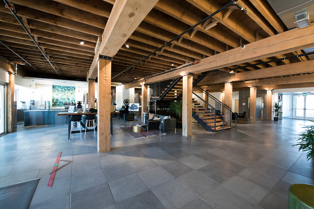 DENVER – NOV. 3. The interior of Steam on the Platte – a new and historic reuse space recently developed at 14th and Zuni streets – is pictured in Denver's Sun Valley neighborhood. (Photo by Andy Colwell/Special to The Denver Post)